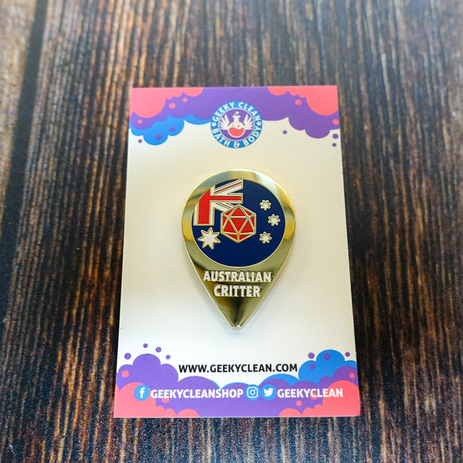 Australian Critter Enamel Pin Badge