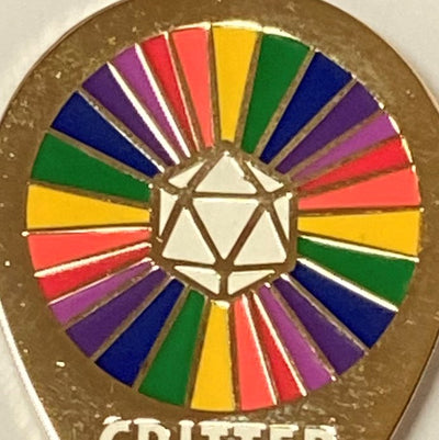 CRITTER PRIDE! LGBT+ Enamel Pin Badge