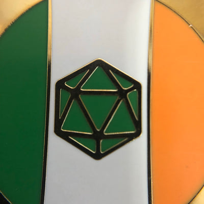 Irish Critter Enamel Pin Badge