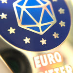 Euro Critter Enamel Pin Badge