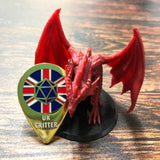PRE-ORDER-UK Critter Enamel Pin Badge