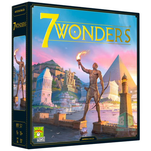 7 Wonders: New Edition *PRE-ORDER - Early November