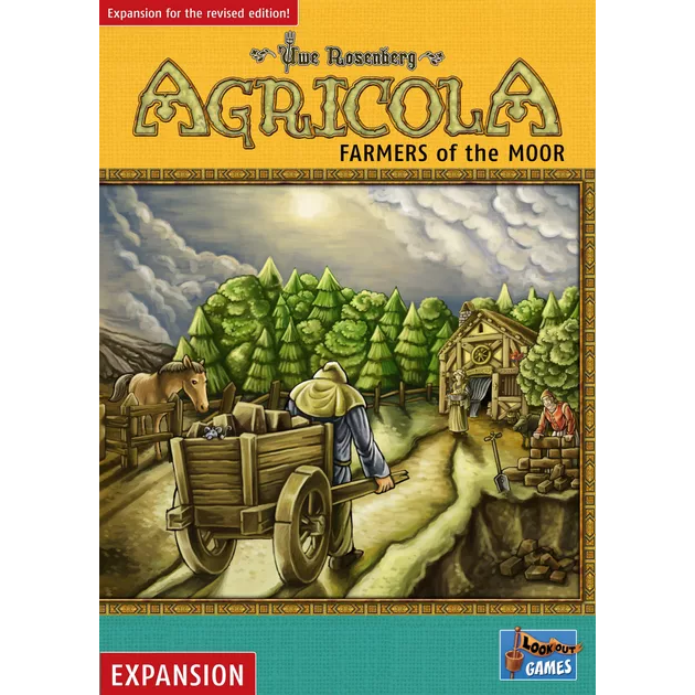 Agricola Expansion: Farmers of the Moor Revised