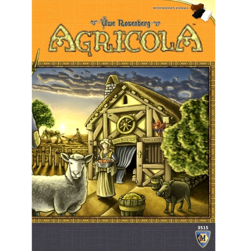 Agricola: Revised Edition (PRE-ORDER: Early October)