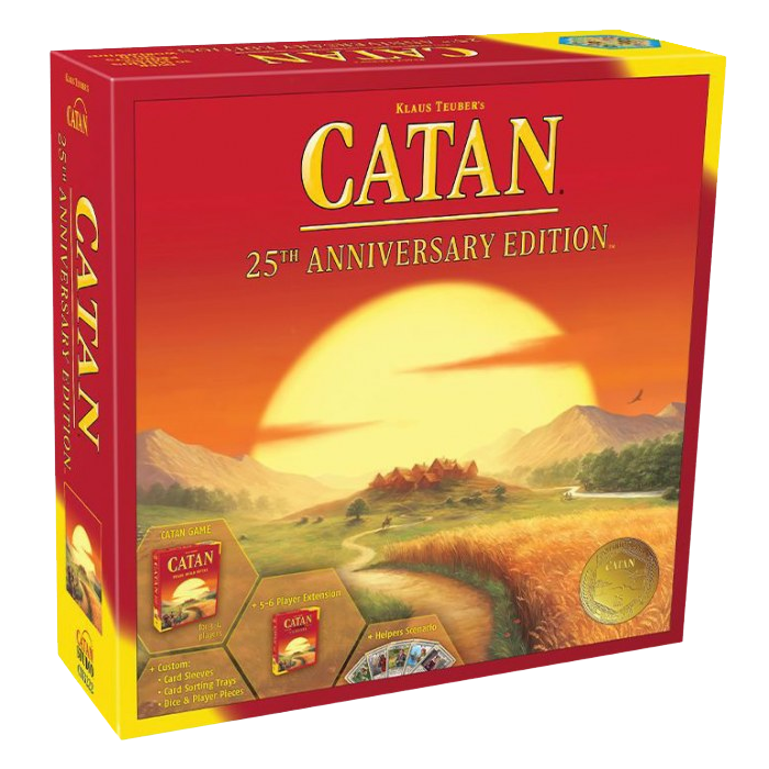 Catan 25th Anniversary Edition Pre-Order