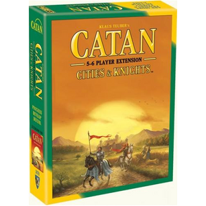 Catan (5th Edition): Cities & Knights 5-6 Player Extension