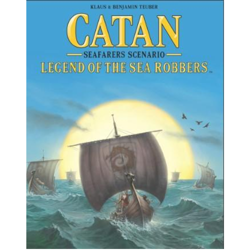 Catan (5th Edition): Legend of the Sea Robbers Expansion