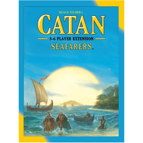 Catan (5th Edition): Seafarers Expansion 5-6 Player Extension