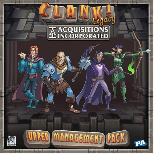 Clank! Legacy: Acquisitions Incorporated Upper Management Pack (PRE-ORDER)