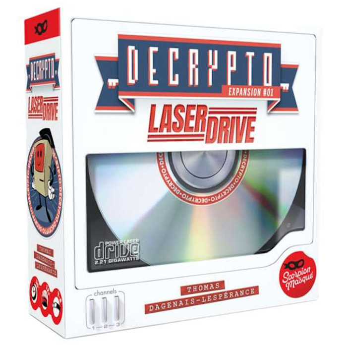 Decrypto: Expansion 1 - Laser Drive