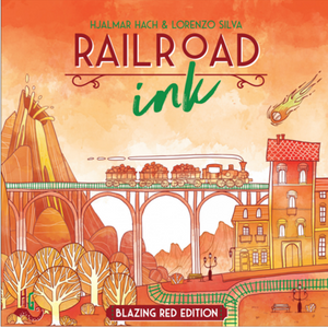 Railroad Ink: Blazing Red Edition *PRE-ORDER: ETA April