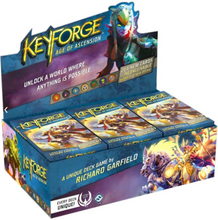 Load image into Gallery viewer, Keyforge: Age of Ascension 12 Deck Display