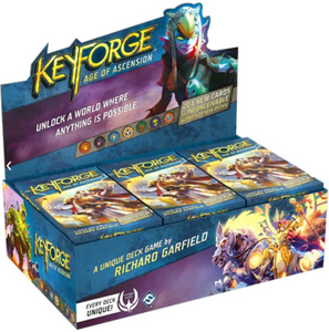 Keyforge: Age of Ascension 12 Deck Display
