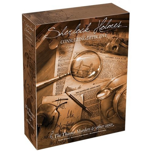 Sherlock Holmes Consulting Detective Thames Murder & Other Cases