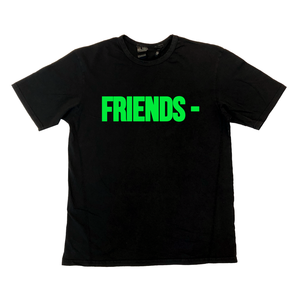 Friends Tee (Black/Green)