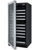 Image of Allavino Flexcount - 128 Bottle Single Zone Wine Refrigerator - VSWR128-1SSLN