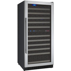 Allavino Flexcount VSWR121-2SSRN  121-Bottle Two Zone Wine Cooler Refrigerator - cjdss
