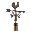 Image of Rustic Farmhouse: Weather Vane Bottle Stopper