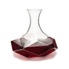 Image of Raye™ Faceted Lead Free Crystal Decanter by Viski