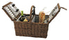 Image of Cape Cod Wicker Picnic Basket by Twine®