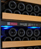 "Image of Allavino 24"" Wide Vite Series 99 Bottle Dual Zone Stainless Steel Wine Refrigerator - YHWR99-2SRN"