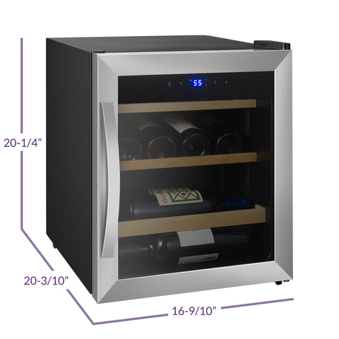 Allavino Cascina - 12 Bottle Single Zone Wine Refrigerator - CDWR15-1SWT