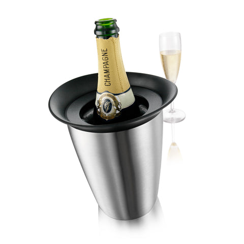 VacuVin Active Wine Cooler - Elegant Champagne