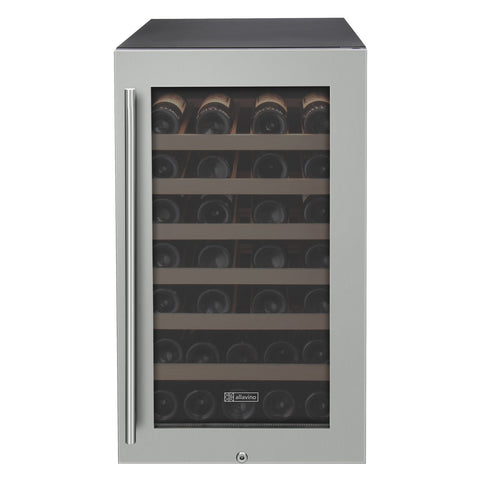 Allavino Cascina - 43 Bottle Single Zone Wine Cooler Refrigerator - VIWR43-1SSRT