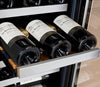 "Image of Allavino Flexcount - 15"" 30-Bottle Dual Zone Wine Refrigerator - VSWR30-2SSRN"