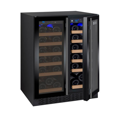Allavino FlexCount Series 36-Bottle Dual-Zone Wine Refrigerator - VSWR36-2BWFN