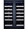 Image of Allavino FlexCount Series 36-Bottle Dual-Zone Wine Refrigerator - VSWR36-2SSFN
