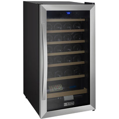 Allavino Cascina - 28 Bottle Wine Cooler Refrigerator - Stainless Steel - CDWR28-1SWT