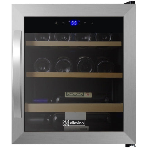 Allavino Cascina Series 12 Bottle Single Zone Wine Refrigerator - CDWR15-1SWT