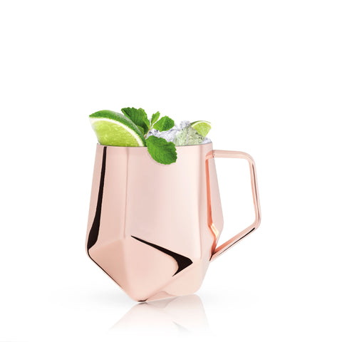Summit™: Faceted Moscow Mule Mug by Viski