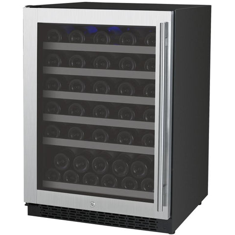 Allavino Flexcount VSWR56-1BWLN - One-Zone 56 Bottle Wine Refrigerator - cjdss