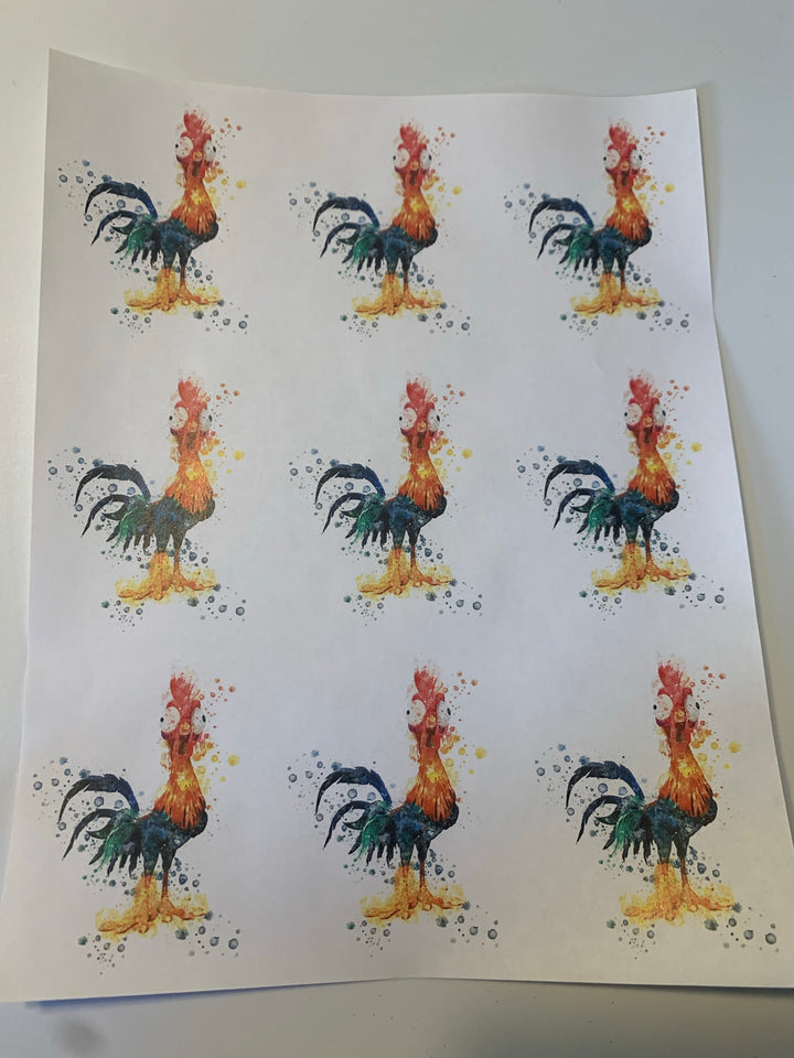 Hei Hei Waterslide Sheet