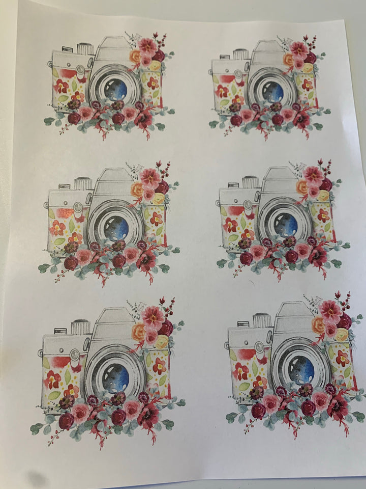 Camera Waterslide Sheet