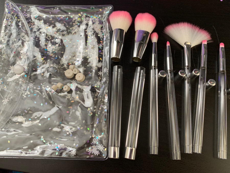 Empty Makeup Brush Set (7 set)