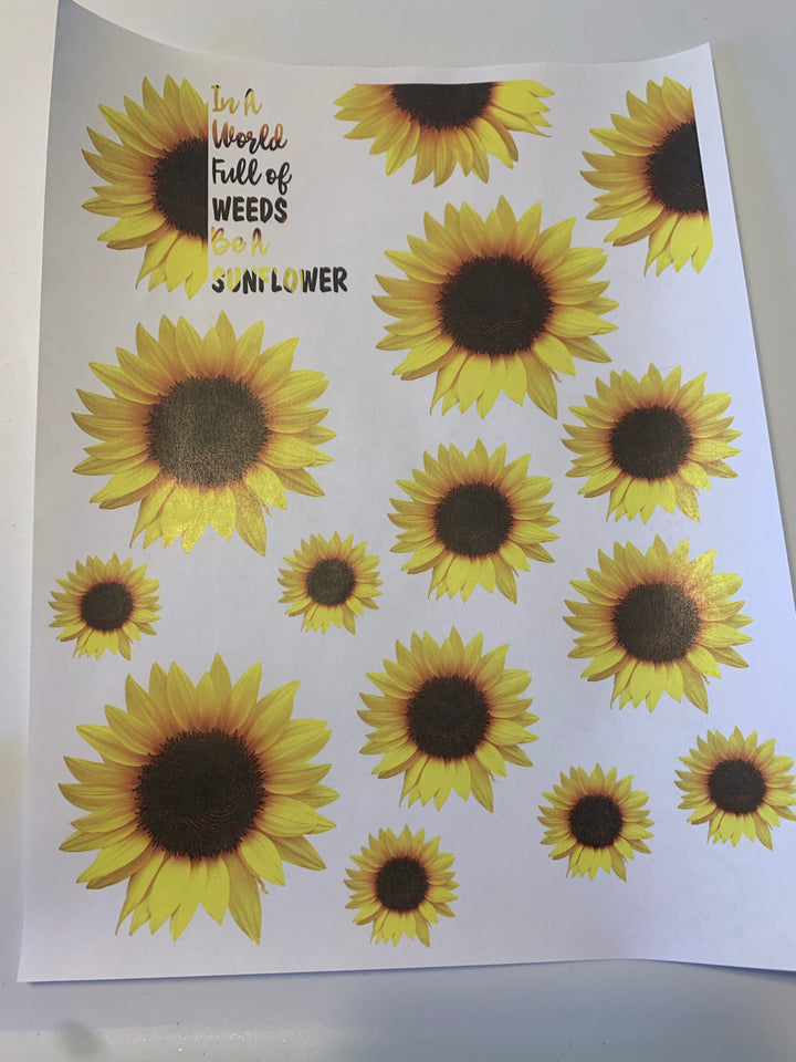 Sunflower Waterslide Sheet