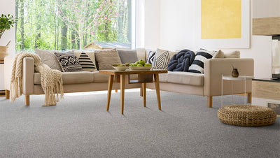 Carpet for a homely feel.