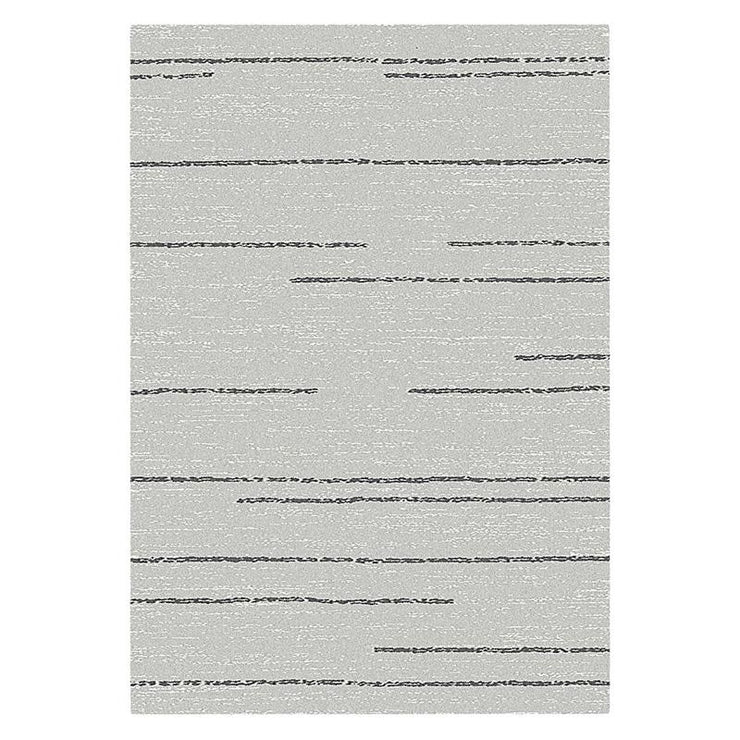 Harper Grey White Rug 2 x 2.9m