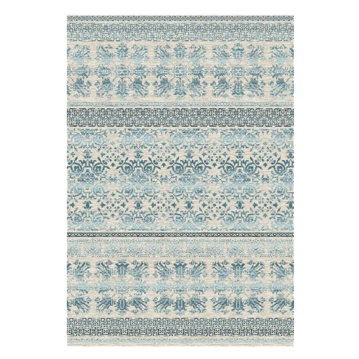 Picasso Blue Cream Rug 2 x 2.9m
