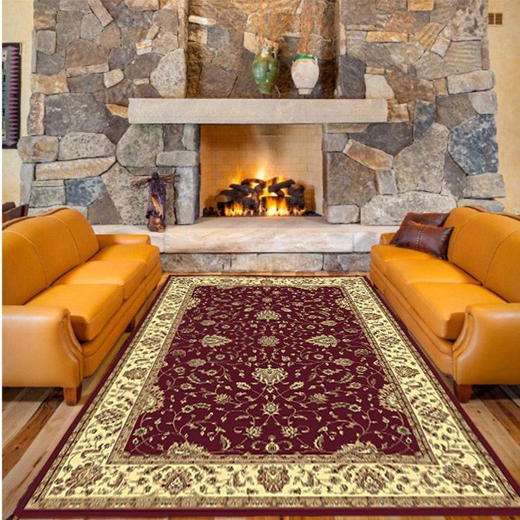 Verona Traditional Red Rug 1.2 x 1.7m
