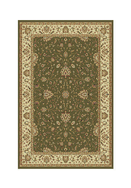 Verona Traditional Green Rug