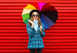 How to look stylish (and stay dry) on a rainy day