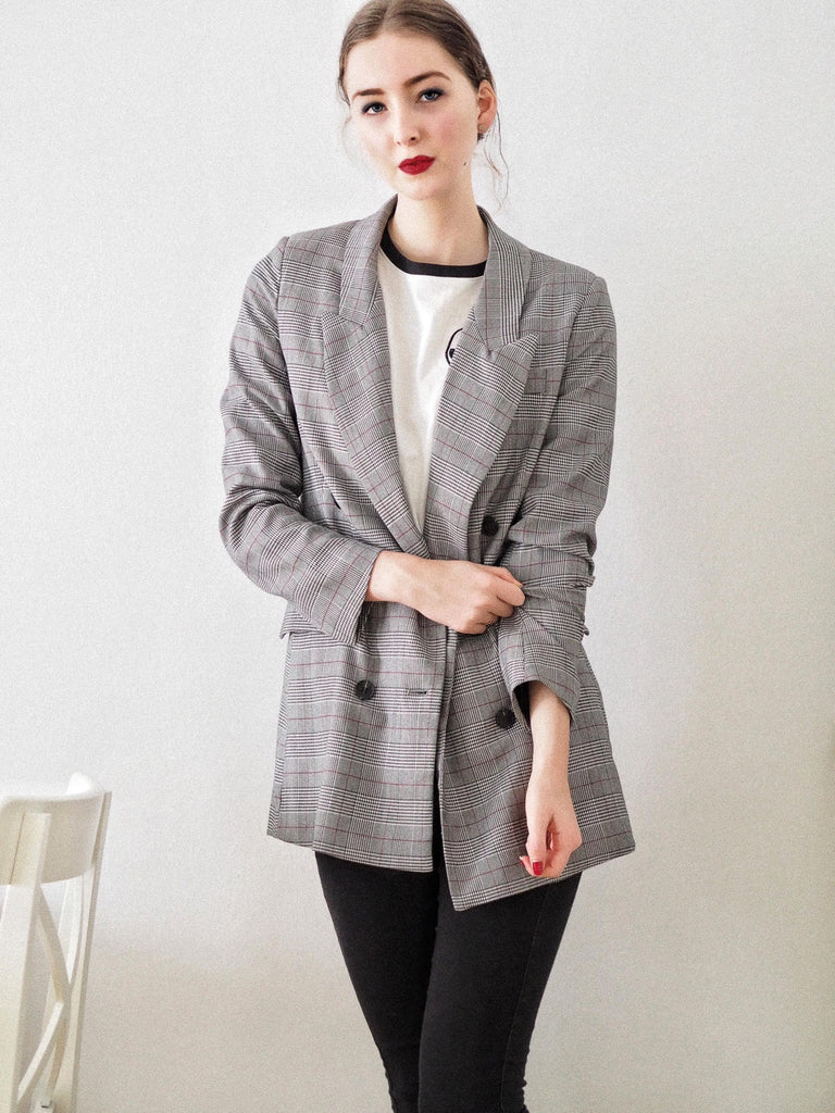 Woman in Blazer