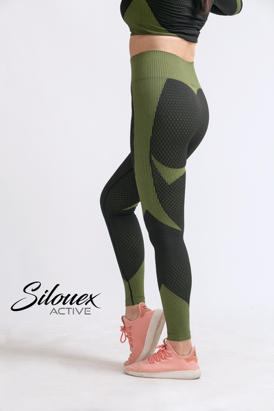 Active Wear Zipper Patchwork Yoga - Silouex