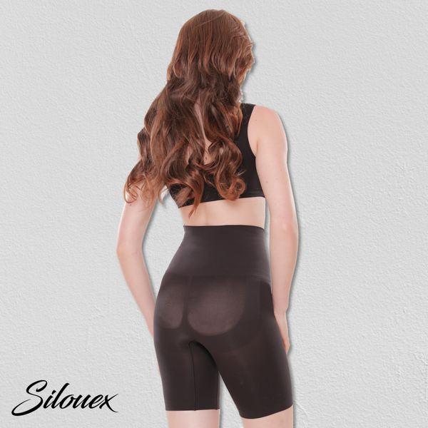 Breathable and Secure High-Waisted Shaper Shorts - Silouex