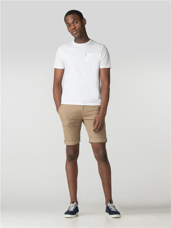 Bens Sherman Slim Stretch Chino Short