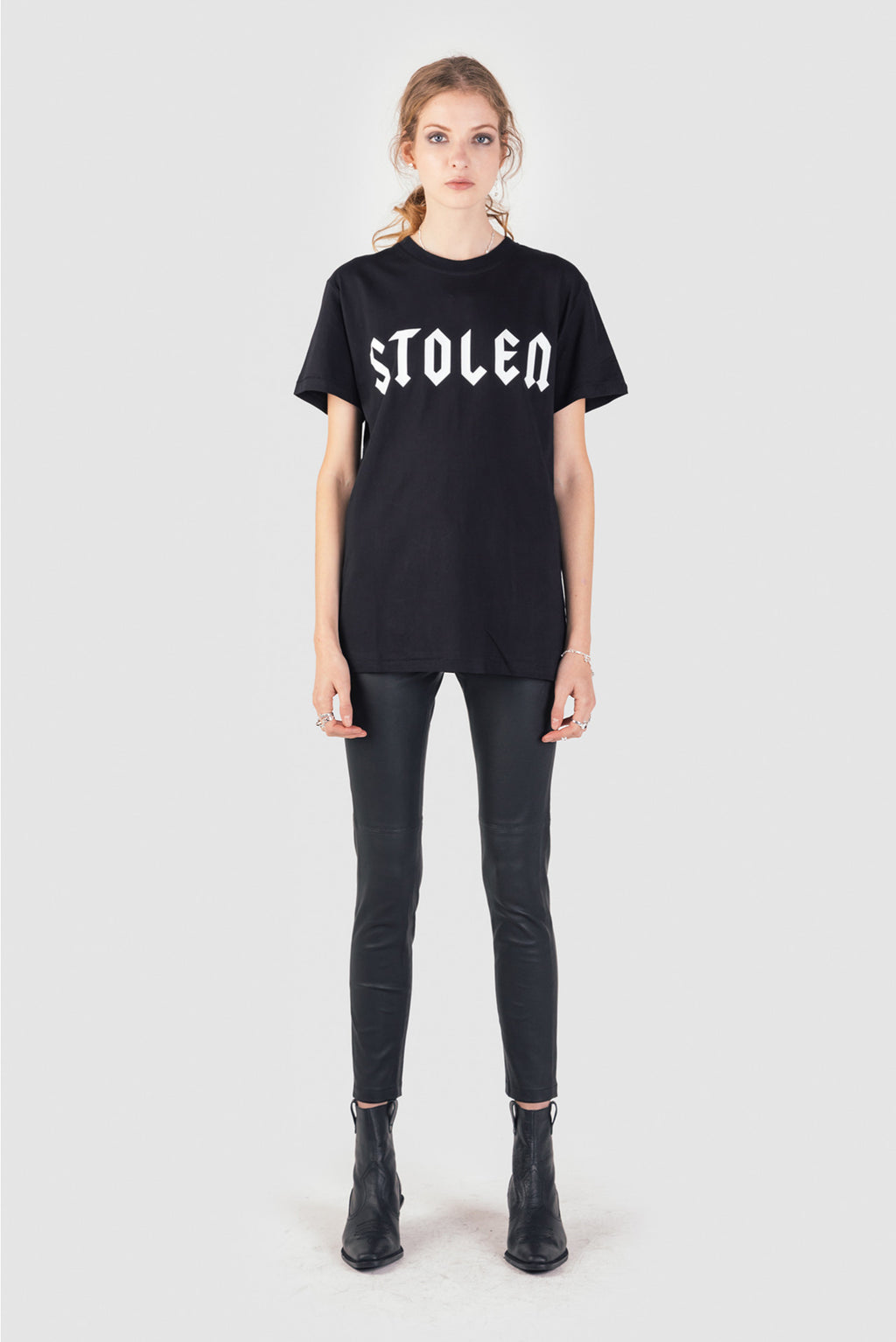 Stolen Girlfriends Club Metal Classic Tee Black